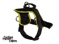 Special synthetic tracking dog harness for watching and guarding work and for pulling