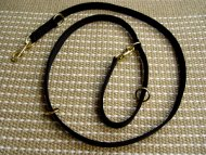 Nylon tracking dog leash